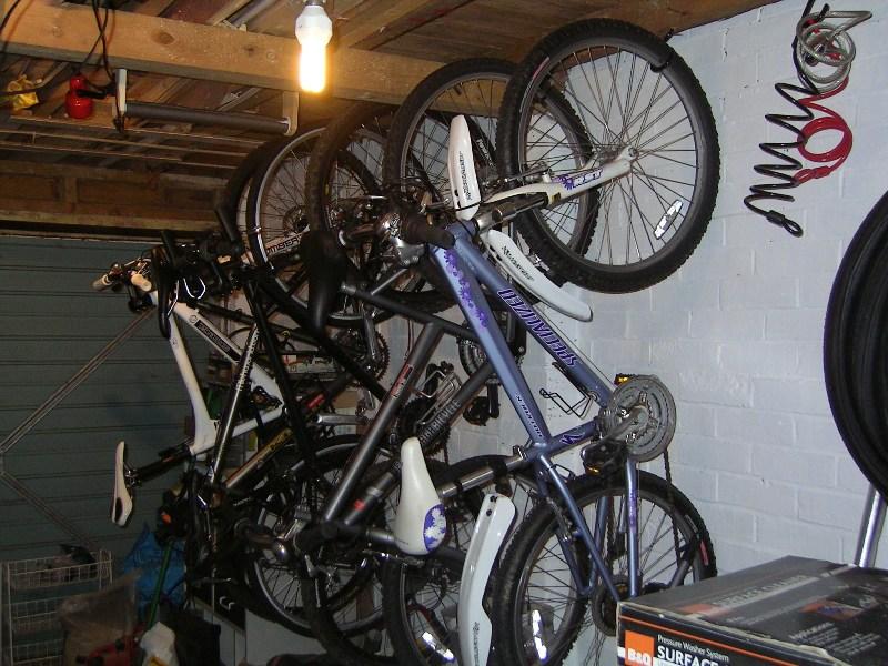 Bike Parking Garage Layout